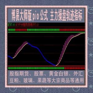 博易大师指标 主力操盘轨迹公式/股指期货/黄金白银外汇/智胜金牛