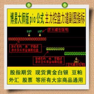 博易指标 方圆期货主力控盘力道公式 股指期货 黄金白银外汇渤海