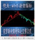倚天wfn2公式/索罗斯决策程序化交易指标/超金牛智胜/期货/螺纹钢