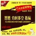 文华财经指标 分时多空公式 股指期货 现货黄金白银外汇商品/智胜