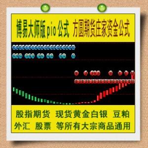 博易指标 方圆期货庄家资金副图公式 股指期货 黄金白银外汇渤海
