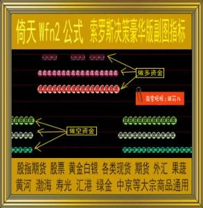 倚天财经/索罗斯决策豪华版副图指标/wfn2公式/黄金白银/现货期货