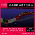 湘187-2.通达信版财牛指标 财牛智能通道主图指标 股票商品期货现货指标模型